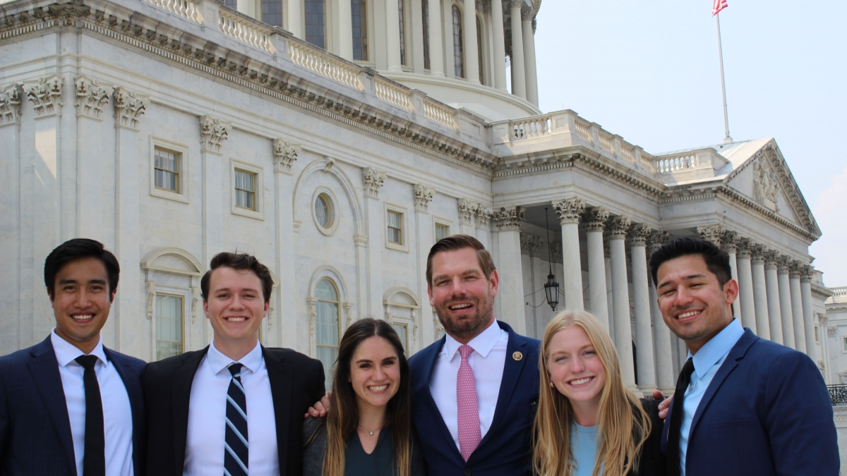 Internships with Rep. Swalwell's offices