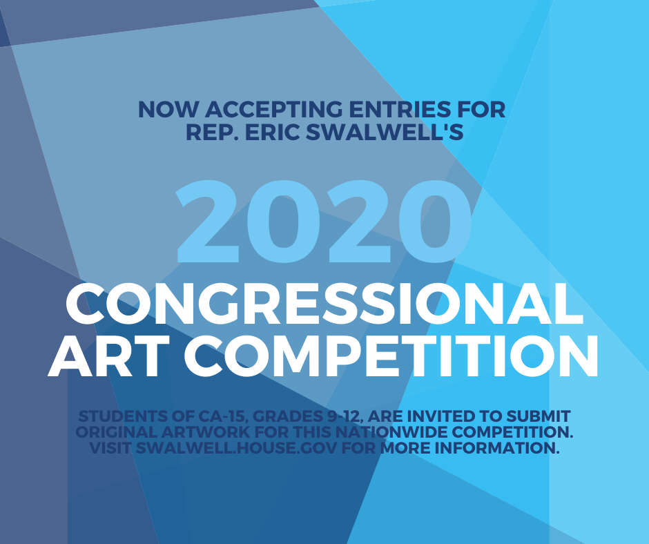 CA15 Congressional Art Competition graphic